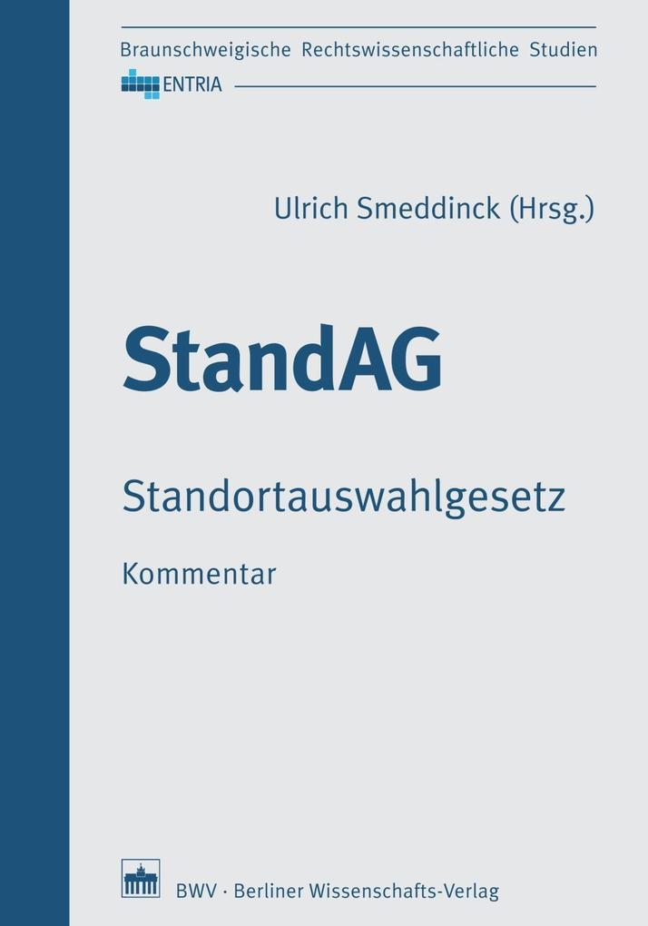 StandAG Standortauswahlgesetz, Kommentar als Buch (gebunden)