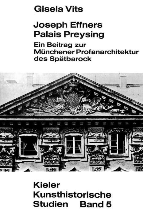 Joseph Effners Palais Preysing als Buch (kartoniert)