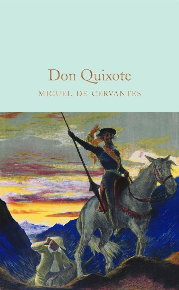 Don Quixote als Buch (gebunden)