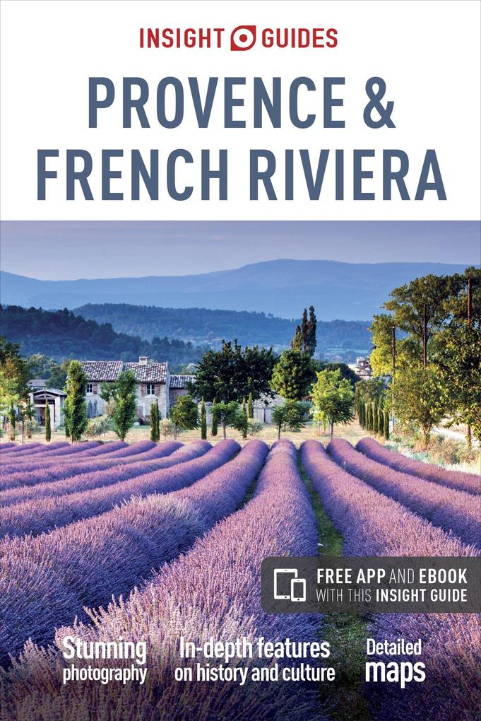 Insight Guides Provence and the French Riviera (Travel Guide with Free eBook) als Taschenbuch