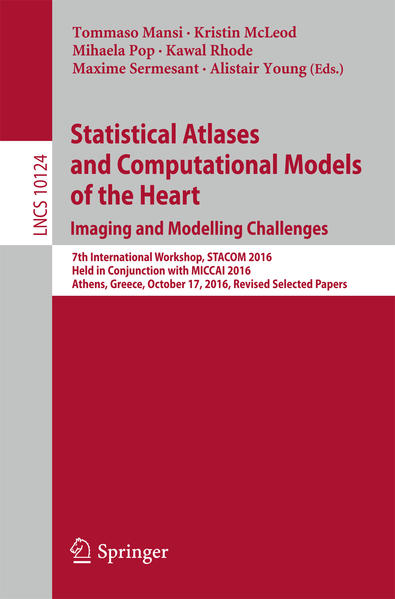 Statistical Atlases and Computational Models of the Heart. Imaging and Modelling Challenges als Buch (kartoniert)