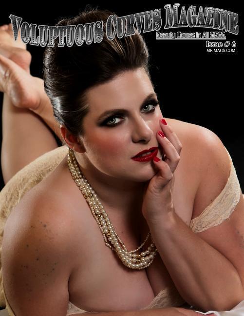 Voluptuous Curves Magazine: Issue 6 Melissa Winchester Cover Model als Taschenbuch