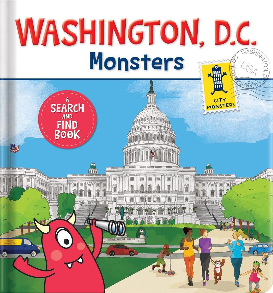 Washington D.C. Monsters: A Search-And-Find Book als Buch (kartoniert)