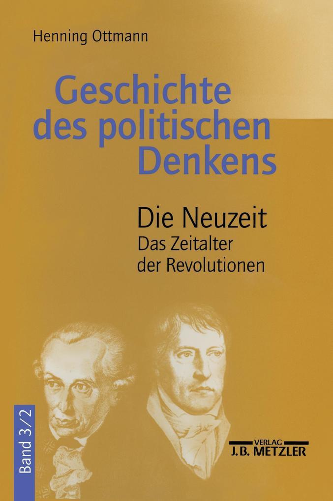 Geschichte des politischen Denkens als Buch (gebunden)