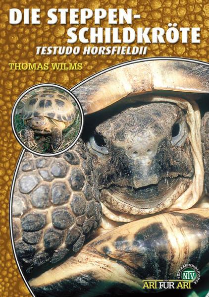 Steppenschildkröte als Buch (kartoniert)