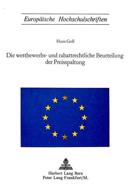 Die wettbewerbs- und rabattrechtliche Beurteilung der Preisspaltung als Buch (kartoniert)