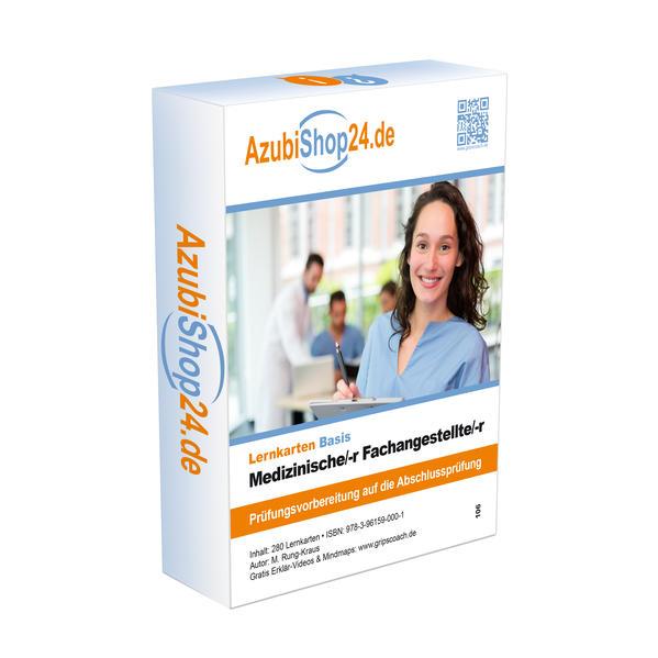 AzubiShop24.de Basis-Lernkarten Medizinische/-r Fachangestellte/-r als Buch (kartoniert)