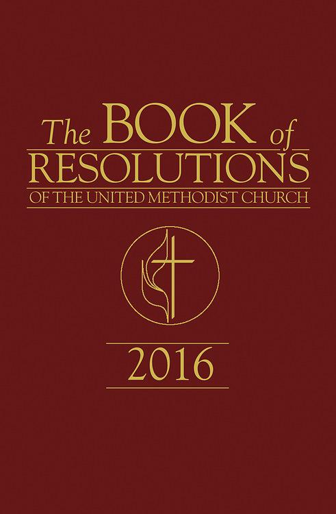 The Book of Resolutions of The United Methodist Church 2016 als eBook epub