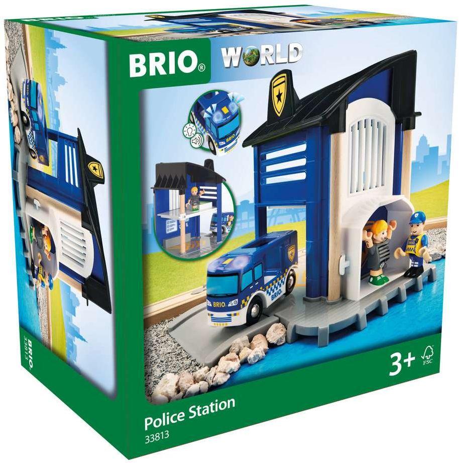 BRIO Bahn - Polizeistation mit Einsatzfahrzeug als Spielware
