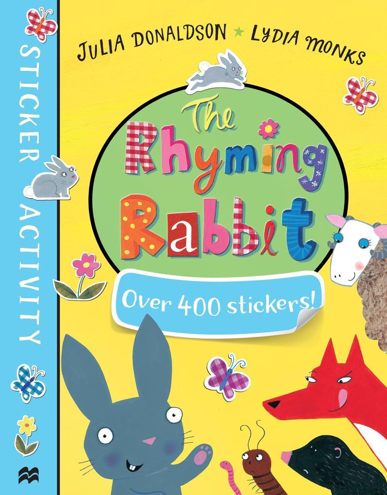 The Rhyming Rabbit Sticker Book als Taschenbuch
