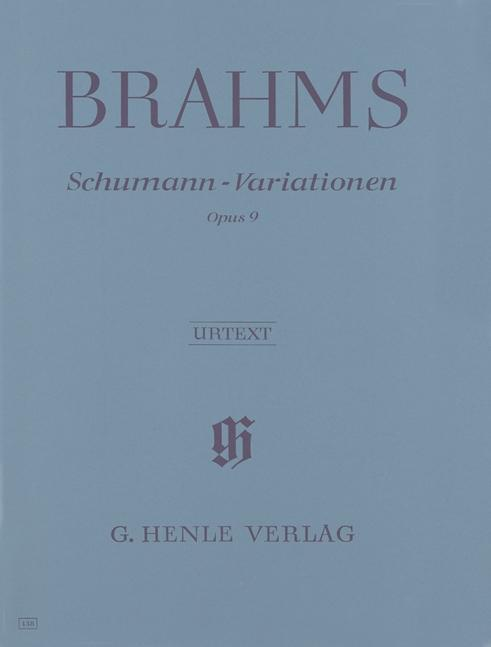 Schumann-Variationen op. 9 als Buch (kartoniert)
