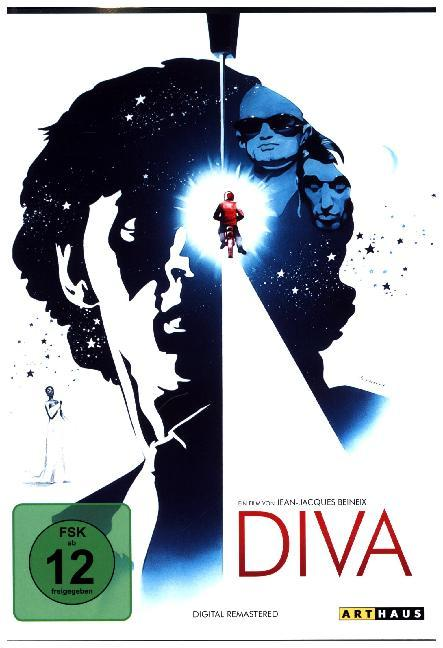 Diva, 1 DVD (Digital Remastered) als DVD