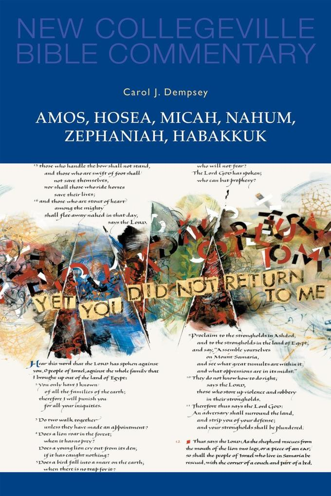 Amos, Hosea, Micah, Nahum, Zephaniah, Habakkuk als eBook epub