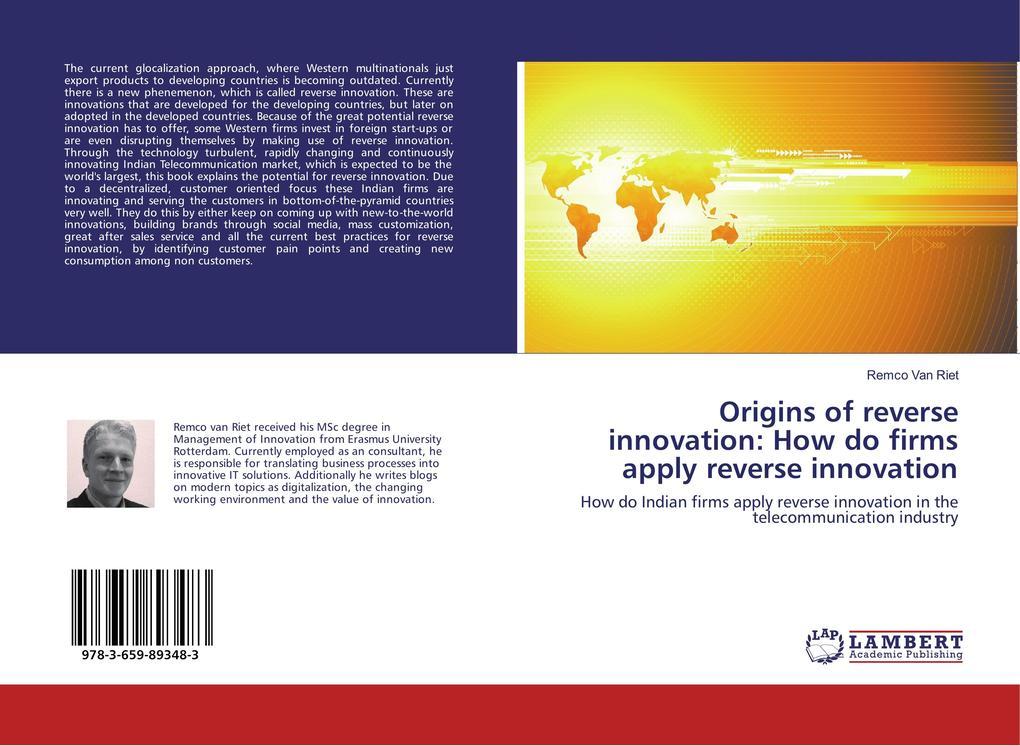 Origins of reverse innovation: How do firms apply reverse innovation als Buch (kartoniert)