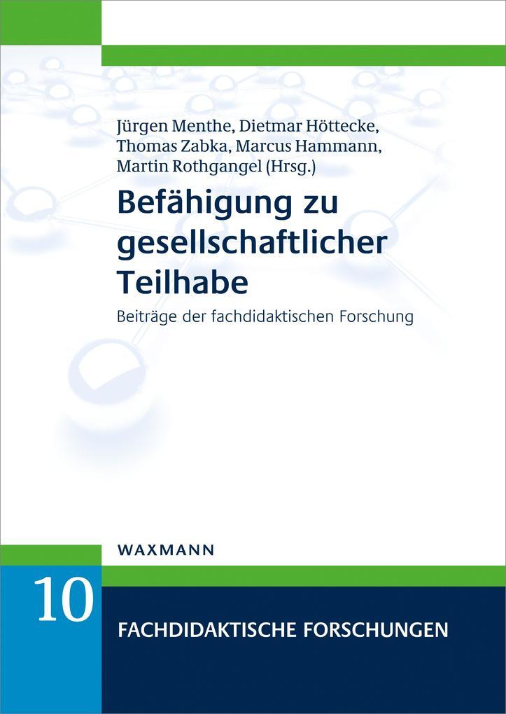 Befähigung zu gesellschaftlicher Teilhabe als eBook pdf