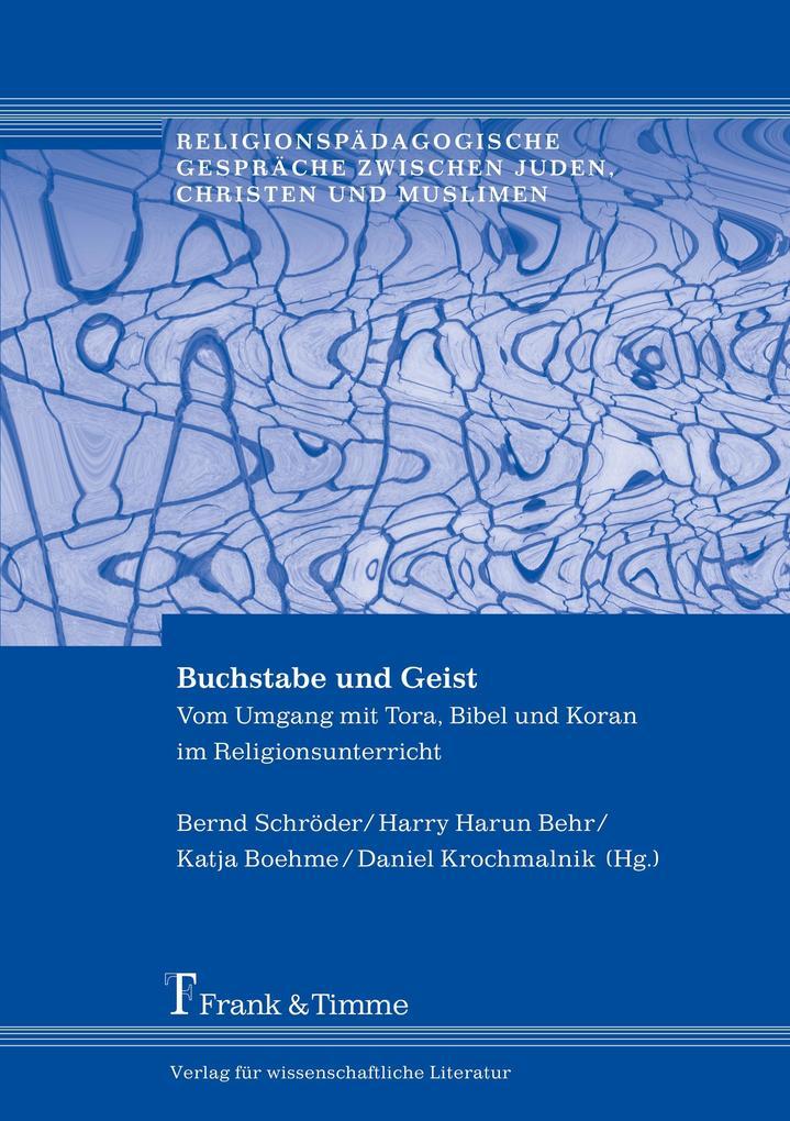 Buchstabe und Geist als Buch (kartoniert)