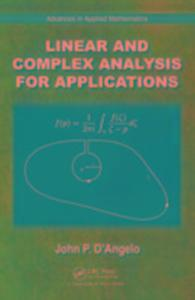 Linear and Complex Analysis for Applications als Buch (gebunden)