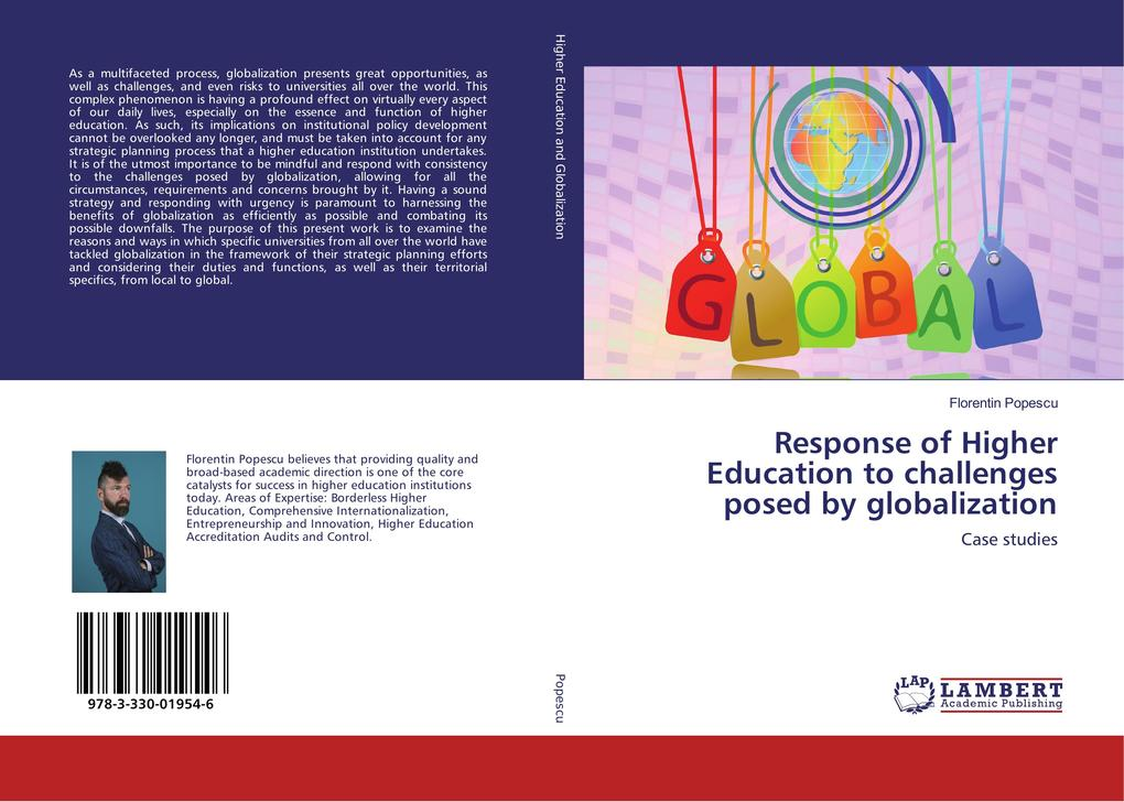 Response of Higher Education to challenges posed by globalization als Buch (kartoniert)