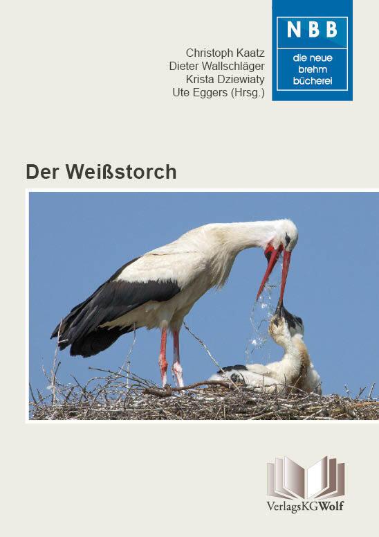 Der Weißstorch als Buch (kartoniert)