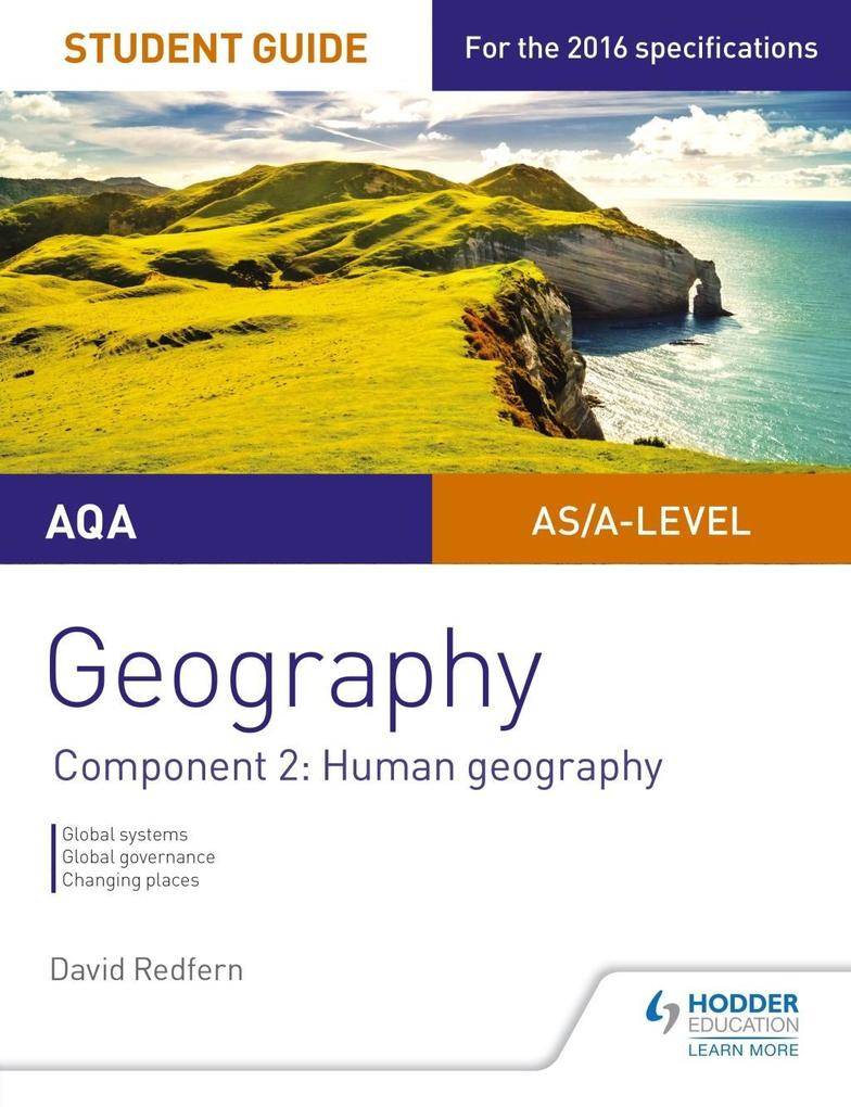 AQA AS/A Level Geography Student Guide: Component 2: Human Geography als eBook epub