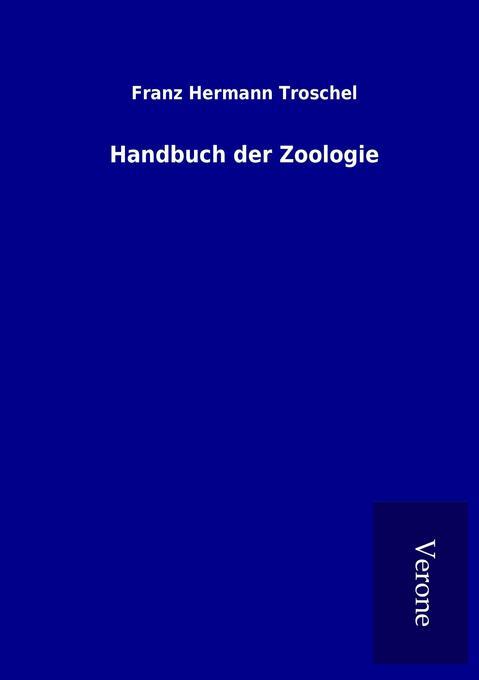 Handbuch der Zoologie als Buch (kartoniert)