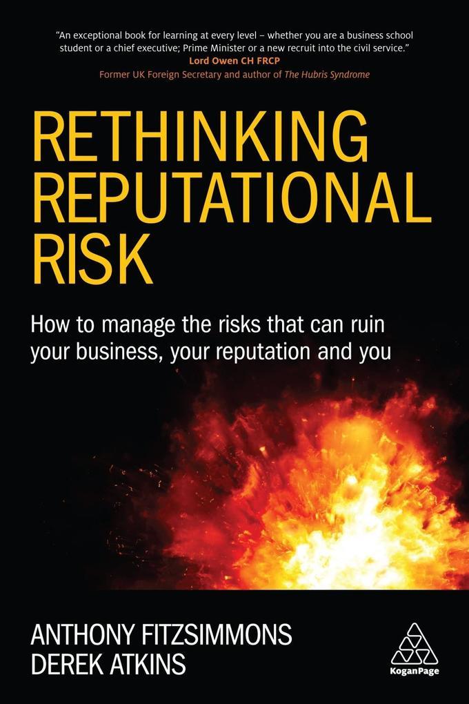 Rethinking Reputational Risk als eBook epub