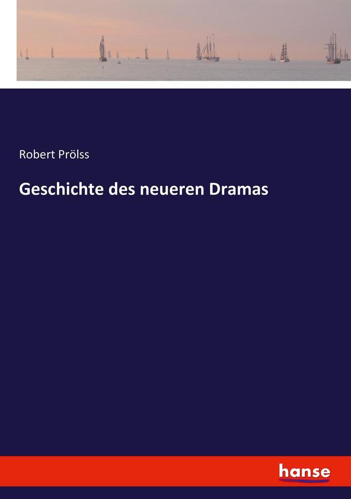 Geschichte des neueren Dramas als Buch (kartoniert)