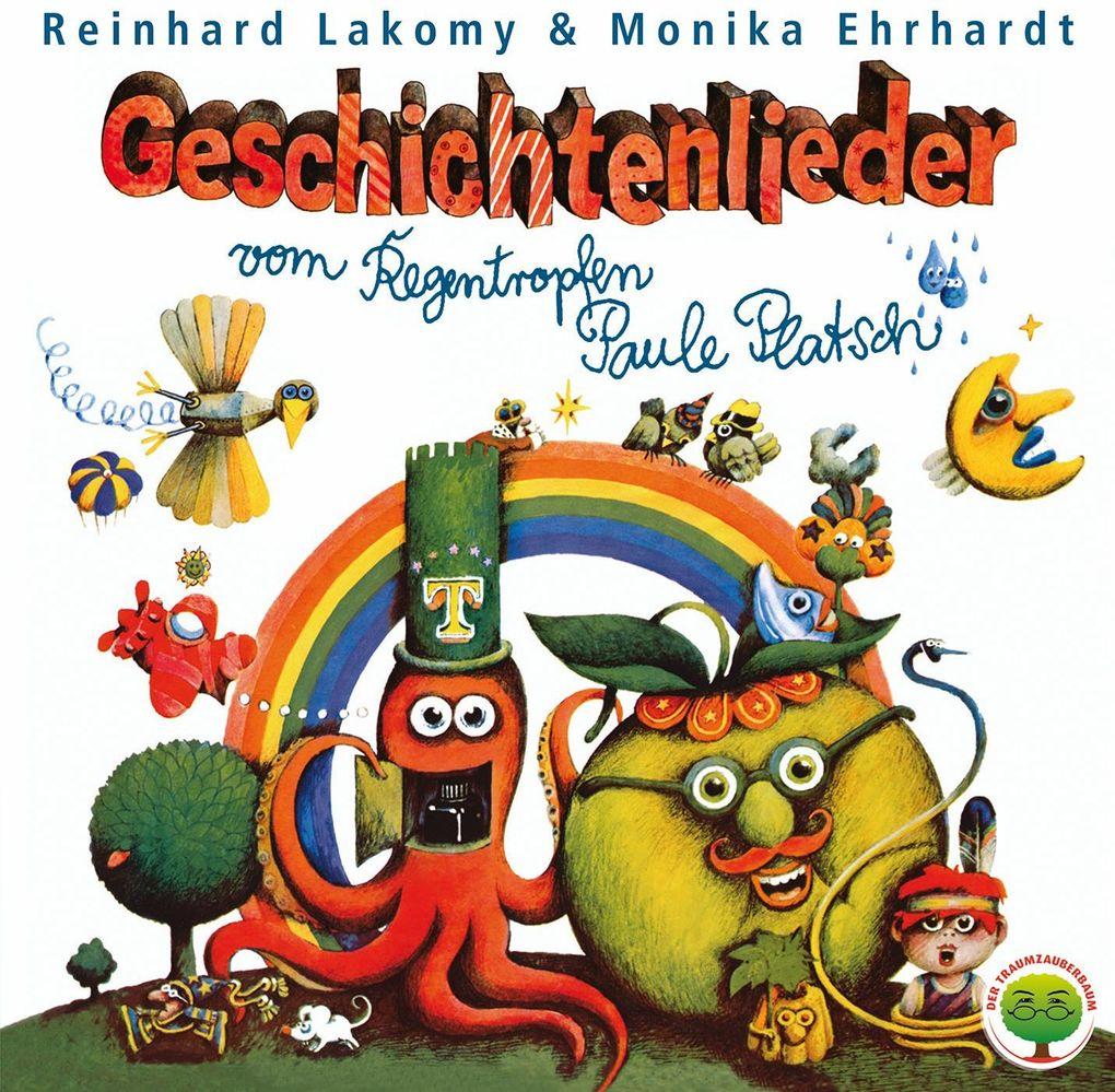Geschichtenlieder.Der Regentropfen Paule Platsch. CD als CD