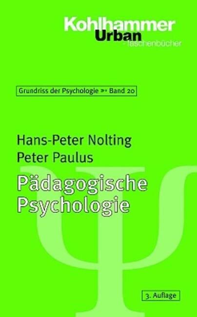 Pädagogische Psychologie als Taschenbuch