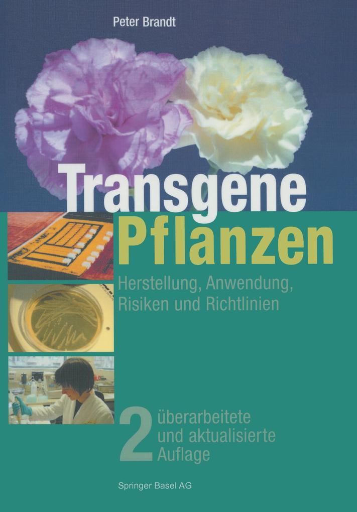 Transgene Pflanzen als Buch (gebunden)