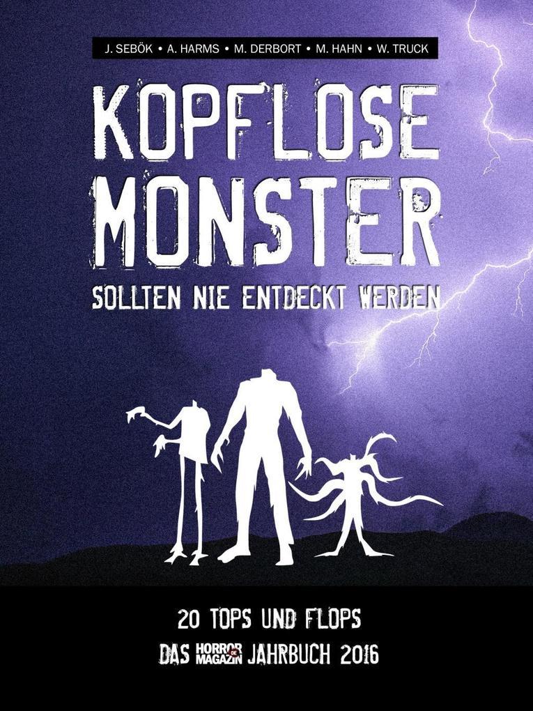 Kopflose Monster sollten nie entdeckt werden als eBook epub
