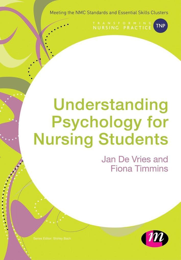 Understanding Psychology for Nursing Students als eBook pdf