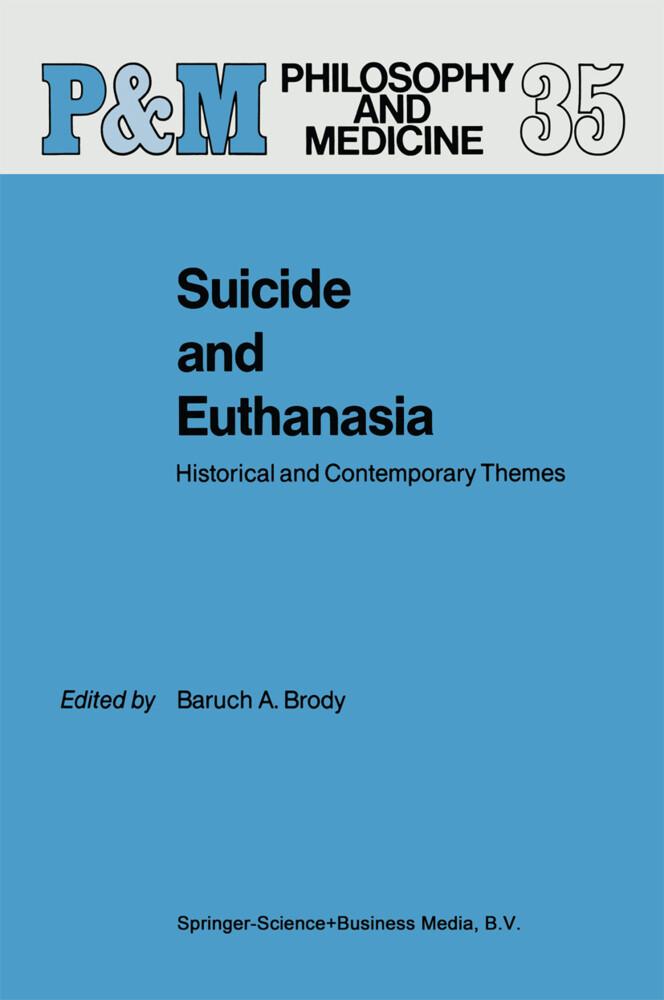 Suicide and Euthanasia als Buch (gebunden)