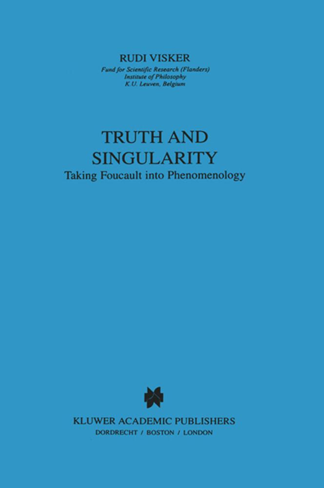 Truth and Singularity als Buch (kartoniert)