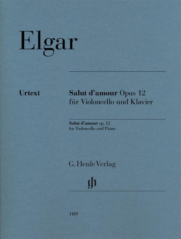 Salut d'amour op. 12 für Violoncello und Klavier als Buch (kartoniert)