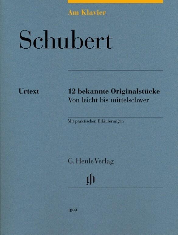 Am Klavier - Schubert als Buch (kartoniert)