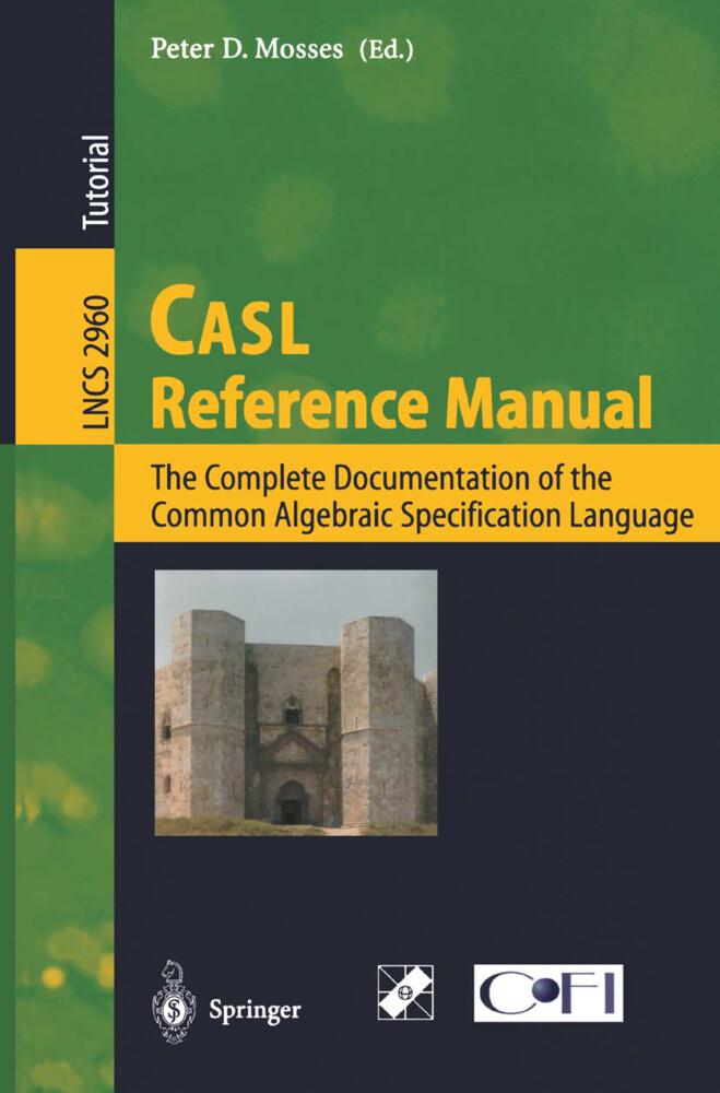 CASL Reference Manual als Buch (gebunden)