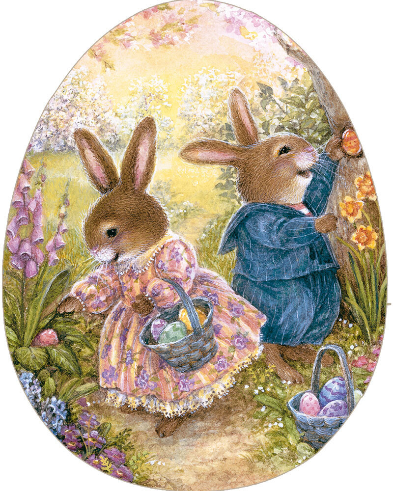 Kinderpuzzle 'Frühlingsfreude'