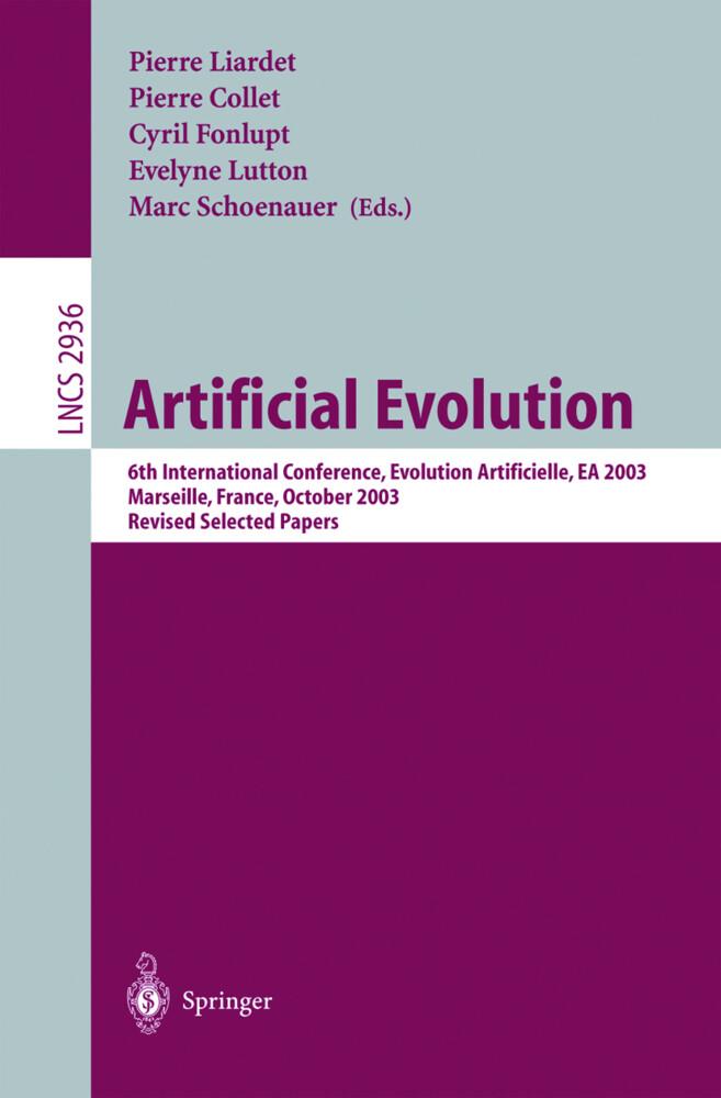 Artificial Evolution als Buch (gebunden)