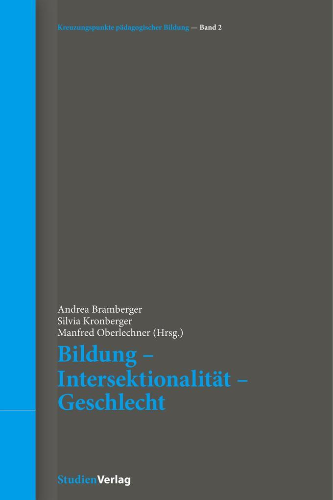 Bildung - Intersektionalität - Geschlecht als Buch (kartoniert)
