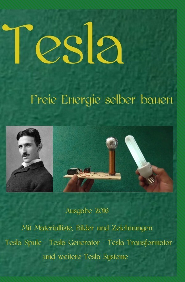 Tesla als Buch (kartoniert)