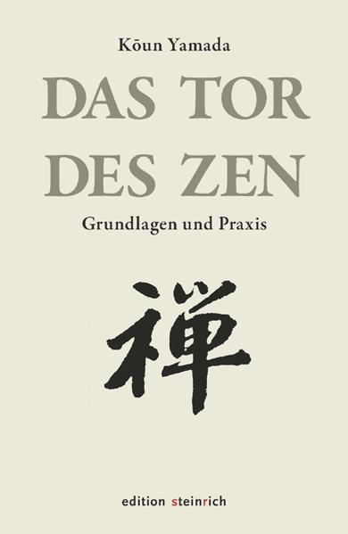 Das Tor des Zen als Buch (gebunden)