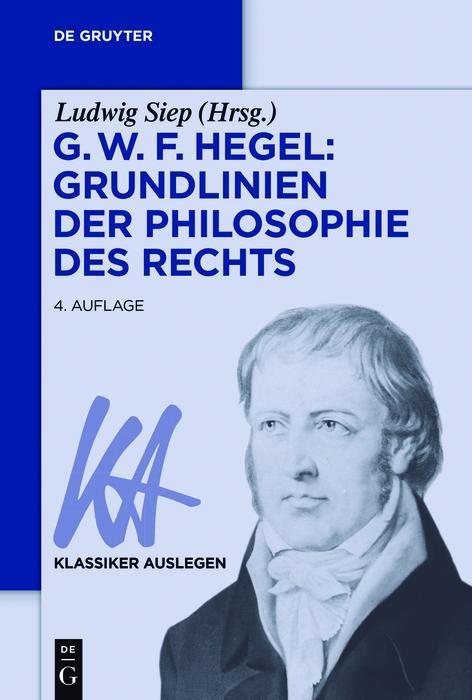 G. W. F. Hegel: Grundlinien der Philosophie des Rechts als eBook epub