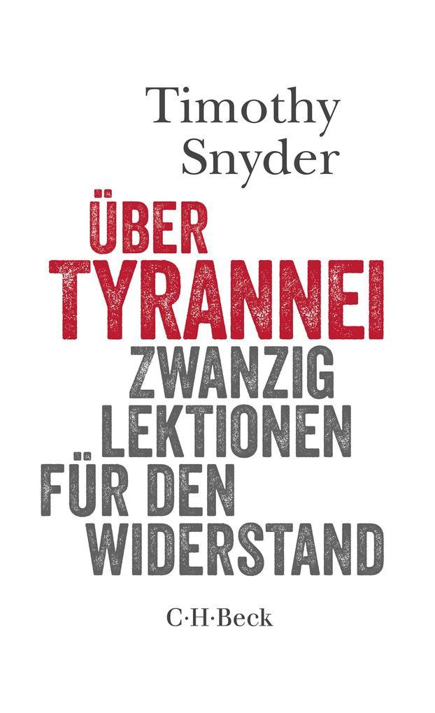 Über Tyrannei als eBook