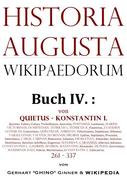 Historia Augusta Wikipaedorum Buch IV.