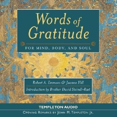 Words of Gratitude for Aud CD als Hörbuch CD