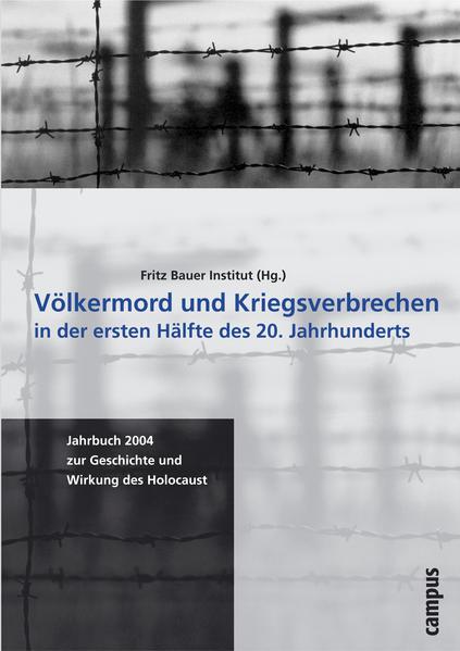 Völkermord und Kriegsverbrechen in der ersten Hälfte des 20. Jahrhunderts als Buch (kartoniert)