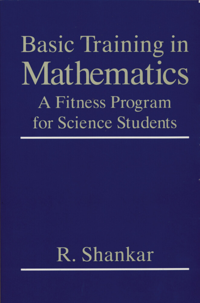 Basic Training in Mathematics als Buch (gebunden)