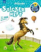 Pferde Stickerheft