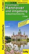 Hannover und Umgebung Rad- und Freizeitkarte 1 : 75 000